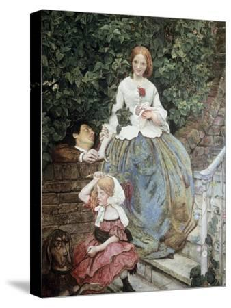 Stages of Cruelty-Ford Madox Brown-Stretched Canvas Print