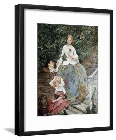 Stages of Cruelty-Ford Madox Brown-Framed Giclee Print