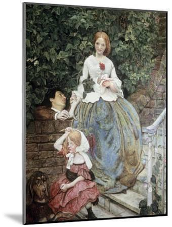 Stages of Cruelty-Ford Madox Brown-Mounted Giclee Print