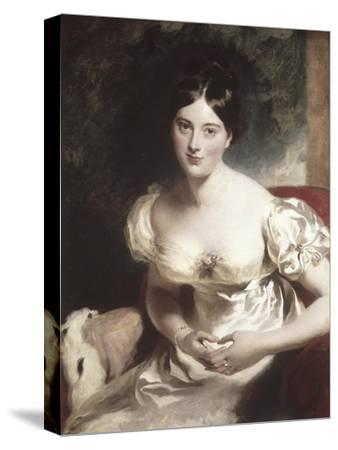 Margaret, Countess of Blessington-Thomas Lawrence-Stretched Canvas Print