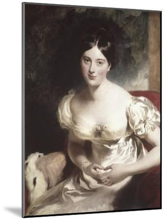 Margaret, Countess of Blessington-Thomas Lawrence-Mounted Giclee Print