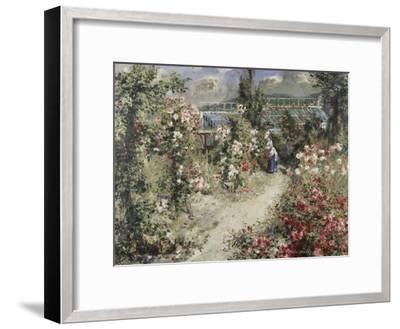 La Serre, Greenhouse-Pierre-Auguste Renoir-Framed Giclee Print