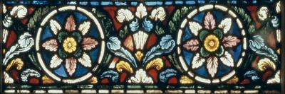 Stained Glass, c.1220--Stretched Canvas Print