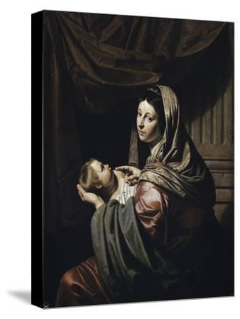 Madonna and Child-Jan Harmensz. Bylert-Stretched Canvas Print
