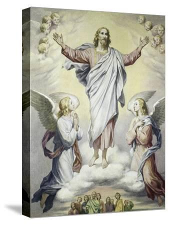 The Ascension-Heinrich Hoffman-Stretched Canvas Print