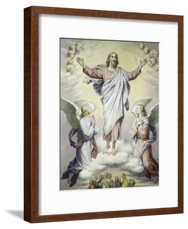 The Ascension-Heinrich Hoffman-Framed Giclee Print