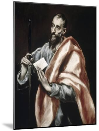 Saint Paul-El Greco-Mounted Giclee Print
