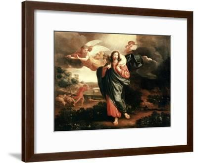 The Good Shepherd-Philippe De Champaigne-Framed Giclee Print