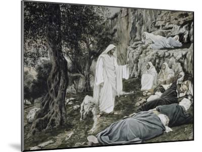 Jesus Commands His Disciples to Rest-James Tissot-Mounted Giclee Print
