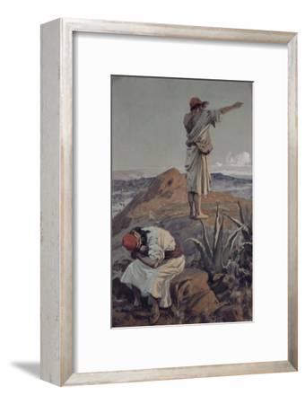 Elijah from Mt Carmel Sees a Cloud Afar Off-James Tissot-Framed Giclee Print