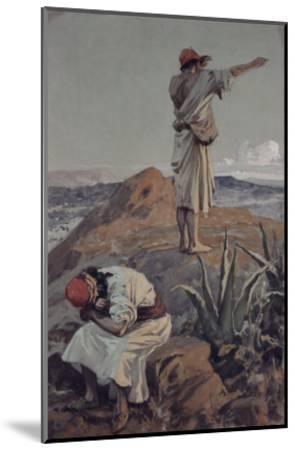 Elijah from Mt Carmel Sees a Cloud Afar Off-James Tissot-Mounted Giclee Print