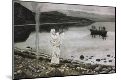 Christ Appears on the Borders of the Tiberius Sea-James Tissot-Mounted Giclee Print