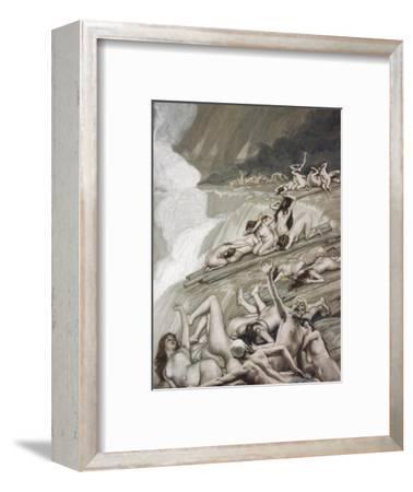 The Deluge-James Tissot-Framed Premium Giclee Print