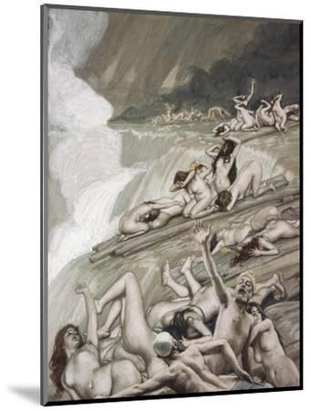 The Deluge-James Tissot-Mounted Premium Giclee Print