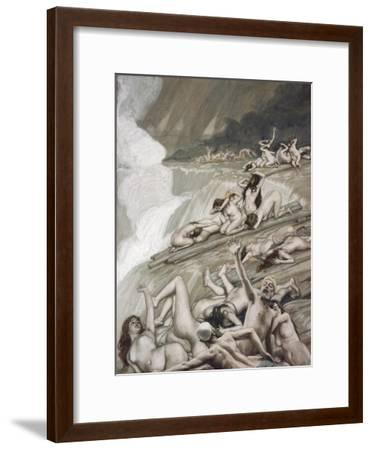The Deluge-James Tissot-Framed Giclee Print