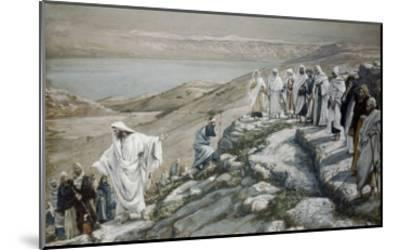 Choosing of Twelve Apostles-James Tissot-Mounted Giclee Print