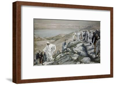 Choosing of Twelve Apostles-James Tissot-Framed Giclee Print