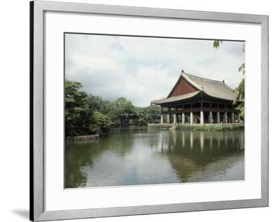 Seoul-Pavilion Kyonghoeru-Bill Bachmann-Framed Photographic Print