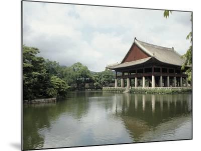 Seoul-Pavilion Kyonghoeru-Bill Bachmann-Mounted Photographic Print