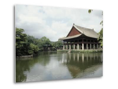 Seoul-Pavilion Kyonghoeru-Bill Bachmann-Metal Print