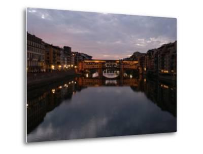 Ponte Vecchio, Florence, Italy-Keith Levit-Metal Print