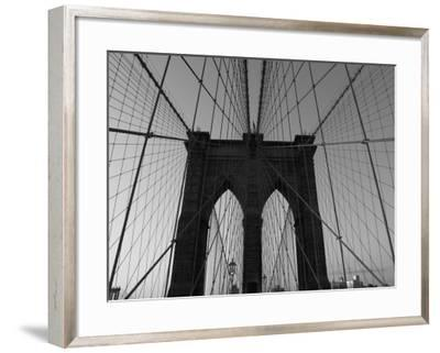 Bridge, New York City-Keith Levit-Framed Photographic Print