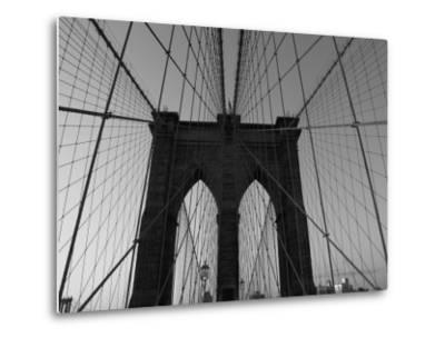 Bridge, New York City-Keith Levit-Metal Print