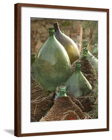 Vineyards, Tuscany, Italy-Keith Levit-Framed Photographic Print