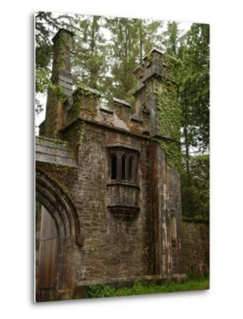Rural Ireland, Stone Building-Keith Levit-Metal Print