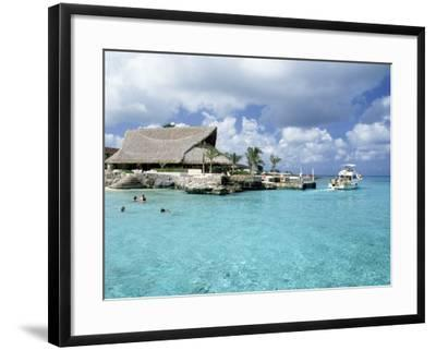 Stouffer Presidente and Beach, Cozumel, Mexico-Timothy O'Keefe-Framed Photographic Print
