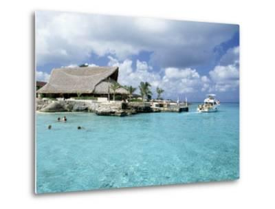 Stouffer Presidente and Beach, Cozumel, Mexico-Timothy O'Keefe-Metal Print