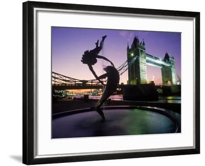 Tower Bridge, London, England, UK-Peter Adams-Framed Photographic Print