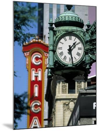 Landmarks on Two State St, Chicago, IL-Bruce Leighty-Mounted Photographic Print
