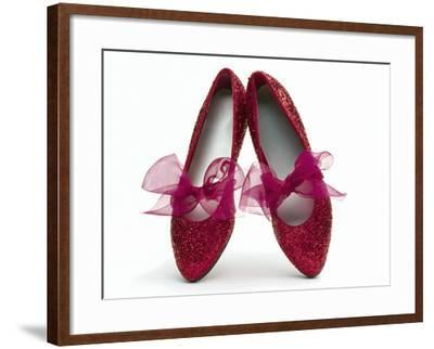 Sparkling Red Shoes-Howard Sokol-Framed Photographic Print