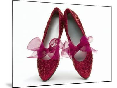 Sparkling Red Shoes-Howard Sokol-Mounted Photographic Print