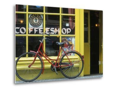 Coffee Shop, Amsterdam, Netherlands-Peter Adams-Metal Print