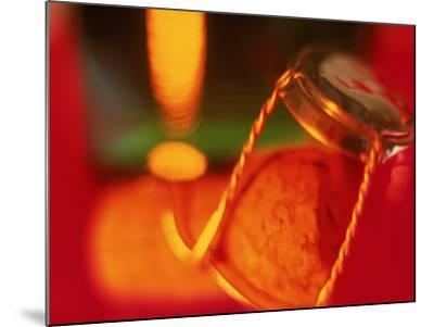 Champagne Cork and Cover-Peter Adams-Mounted Photographic Print