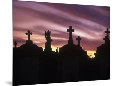 Cemetery at Sunset, New Orleans, Louisiana-Kevin Leigh-Mounted Photographic Print