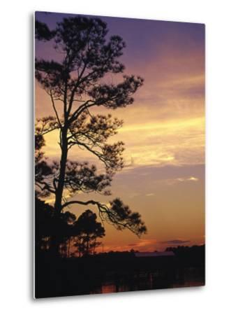 Cotton Bayou at Sunset, Orange Beach, AL-Jeff Greenberg-Metal Print