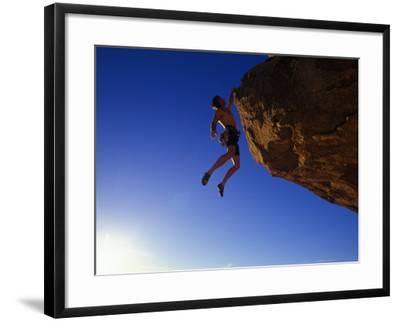 Rock Climber-Greg Epperson-Framed Photographic Print