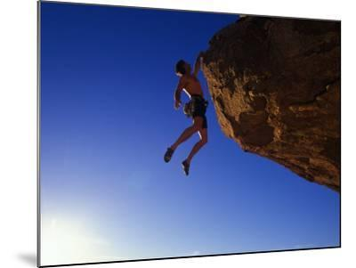 Rock Climber-Greg Epperson-Mounted Photographic Print
