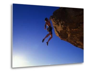 Rock Climber-Greg Epperson-Metal Print