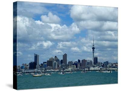 Auckland Skyline, New Zealand-Bruce Clarke-Stretched Canvas Print