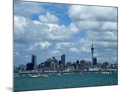 Auckland Skyline, New Zealand-Bruce Clarke-Mounted Photographic Print