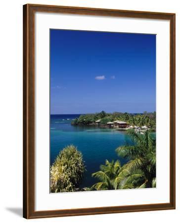 Anthonys Key Resort, Roatan, Honduras-Timothy O'Keefe-Framed Photographic Print