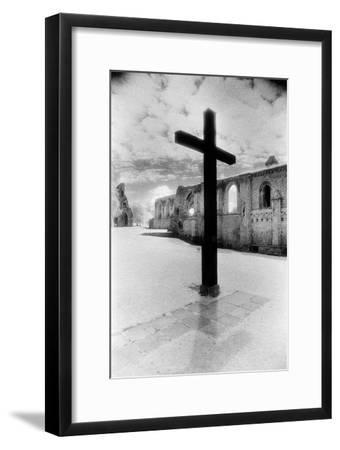Glastonbury Abbey, Somerset, England-Simon Marsden-Framed Giclee Print