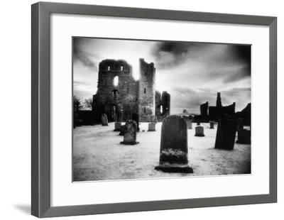 Lindisfarne Priory, Holy Island, Northumberland, England-Simon Marsden-Framed Giclee Print