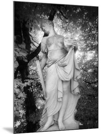 Statue at Baroque Garden, Heidenau, Germany-Simon Marsden-Mounted Giclee Print