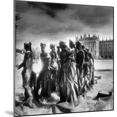 Statues Infront of the Neus Palais, Potsdam, Germany-Simon Marsden-Mounted Giclee Print