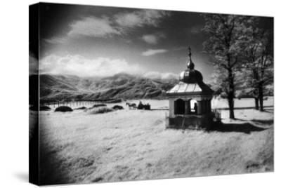 Roadside Shrine, Entrance to the Carpathian Mountains, Romania-Simon Marsden-Stretched Canvas Print